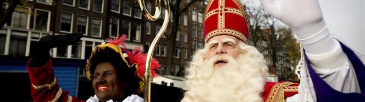 Cupsong tijdens de intocht van Sinterklaas 2013